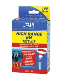 FW/SW High Range pH Test Kit - 160 Tests