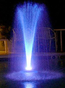 PJ -LR-48C Floating LED Fountain
